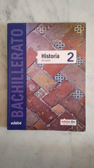 Libro Historia 2 bachillerato edebé