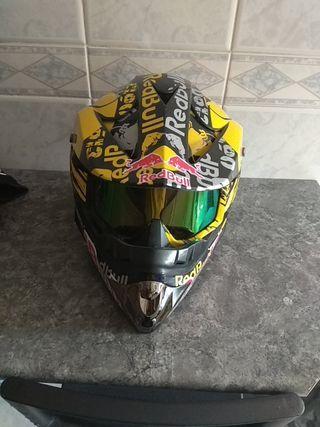 Casco motocross + regalo