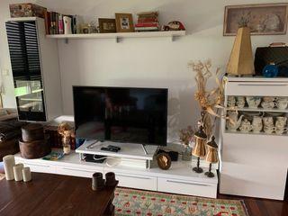 Mueble blanco modular