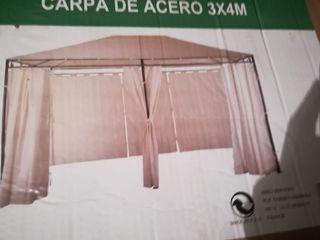 Carpa / Cenador de acero 3×4 M
