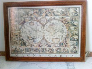 Cuadro Puzzle Carta Navegacion 1500 piezas