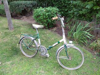 Bicicleta clásica gac mobylette plegable