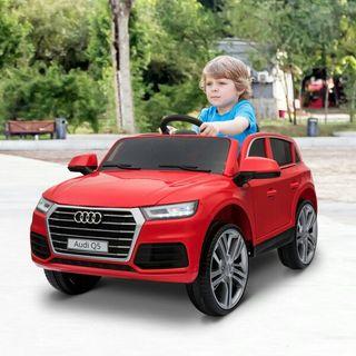 Coche Eléctrico para Niño 3-8 Años Audi Q5 Rojo