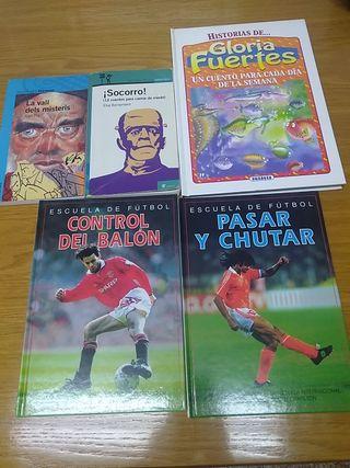 Libros para el colegio. Infantil y ESO.