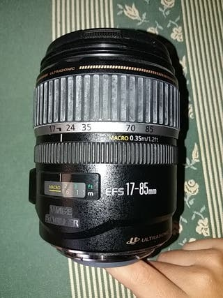 Objetivo Canon 17-85mm