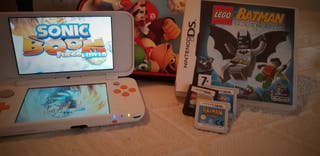 Nintendo 2DS xl + Funda + 3 Juegos .
