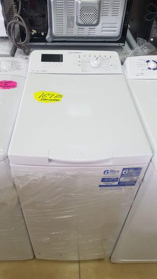 Lavadora de carga superior 6 kg Indesit BTWD61053E