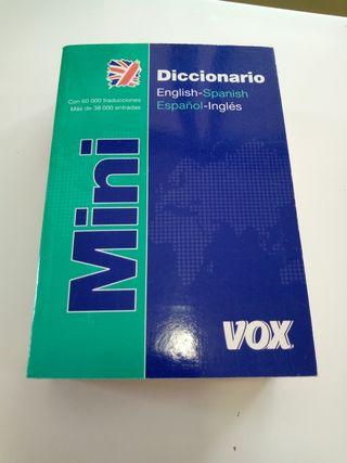 Mini Diccionario Inglés
