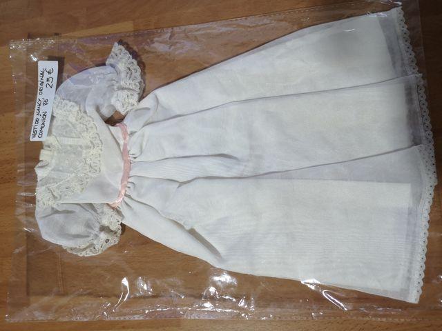 Vestidos varios de Nancy comunión distintos años