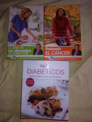 3 libros alimentos beneficosos