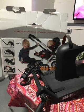 Kid sit para carro de bebé, con adaptador