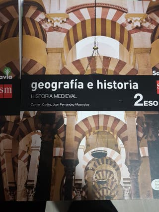 Geografía Humana e Historia Medieval 2 ESO SM.