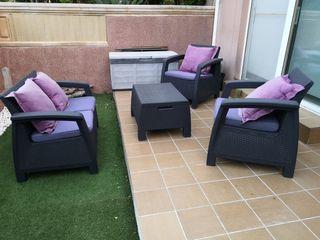 Conjunto muebles exterior
