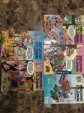 Colección de comics Mortadelo y Filemón
