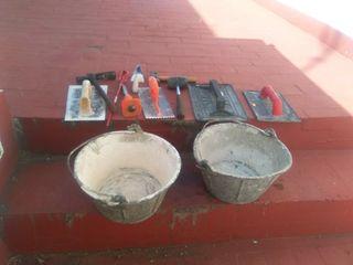 Kit herramientas construcción.