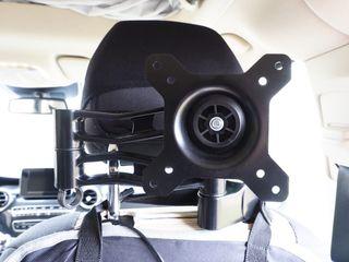 Soporte para TV en asiento coche