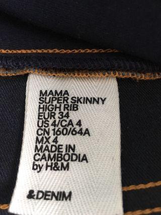 Pantalon premama maternidad