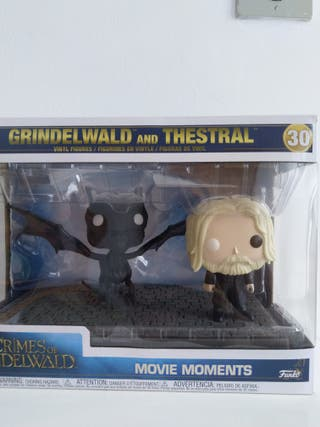 funko pop grindelwald and thestral