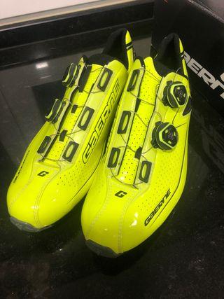 Zapatillas Mtb gaerne como nuevas amarillo