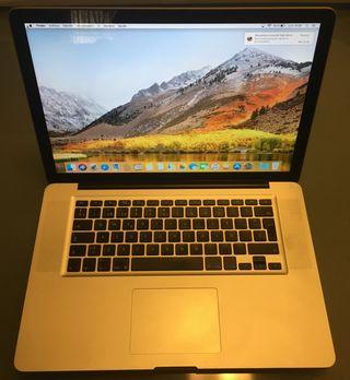 Apple Mac Book Pro 15 principios 2011 MEJORADO