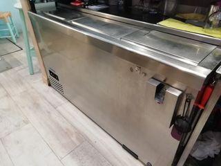 Botellero frigorífico acero inox