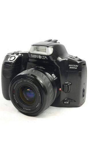 Camara de fotos reflex analógica