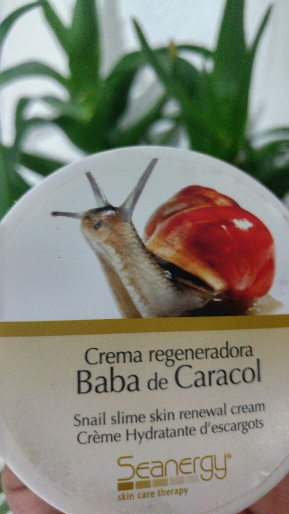 Crema regeneradora e hidratante BABA DE CARACOL
