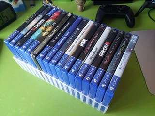 Rack Soporte VERTICAL/HORIZONTAL Juegos PS4/XBOX/B