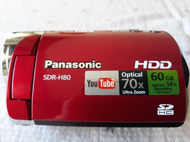 Cámara de video Panasonic