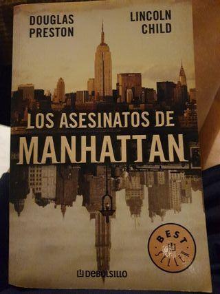 LIBRO LOS ASESINATOS DE MANHATTAN