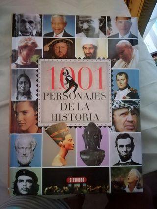 Libro 1001 personajes de la Historia