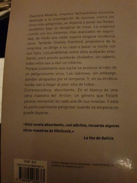 LIBRO EN EL BLANCO