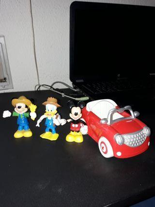 el coche de Mickey Mouse
