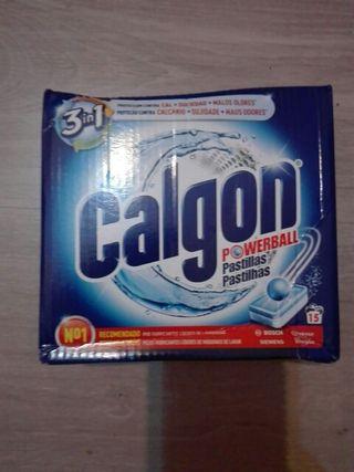 LOTE DE 3 CAJAS PASTILLAS CALGON