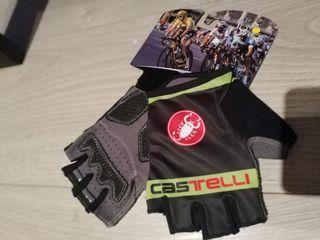 Guantes cortos Castelli t.M