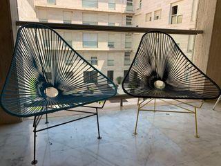 Pareja de sillas Acapulco