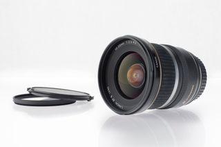Canon EF-S 10-22 F/3.5-4.5 USM + filtro UV