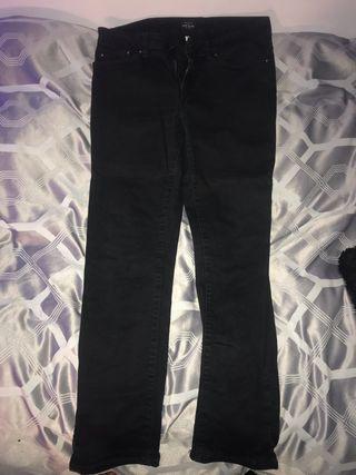 Men's black slim fit river island jeans