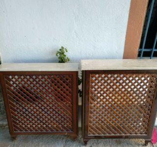 Mueble cubre-radiador