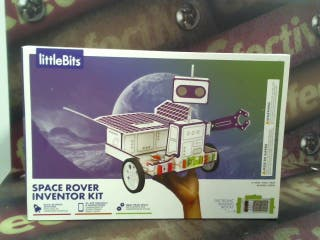 LITTLEBITS SPACE ROVER INVENTOR KIT (SIN USO)
