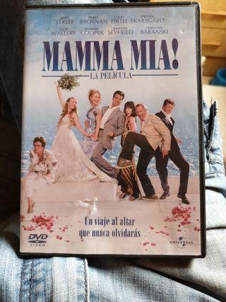 DVD mamma mía perfecto estado