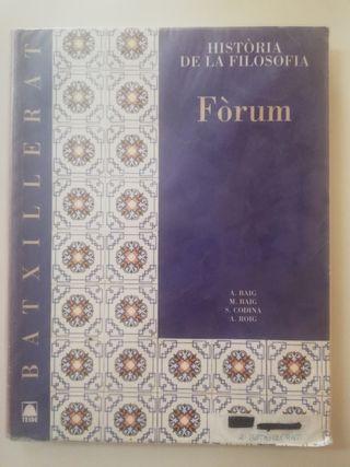 Libro de Texto Historia de la Filosofía
