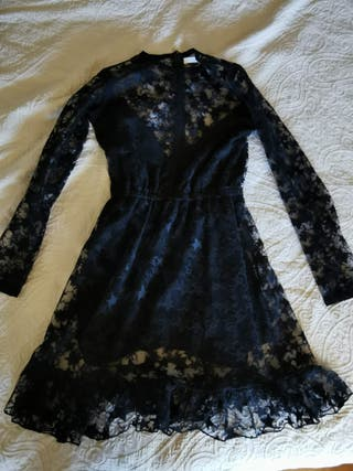 Vestido de noche negro Lovely Pepa mujer