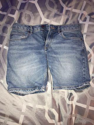 Men's blue denim river island jeans