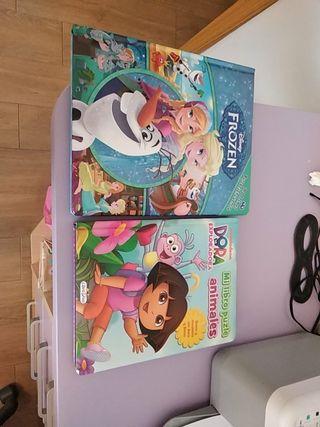 Libro Frozen y Dora