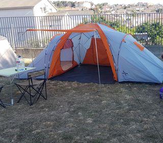 Tienda de campaña 3 habitaciones
