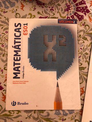 Libros de matemáticas 1 eso
