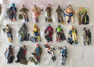 Gran lote G.I. Joe Hasbro 31 figuras y armas