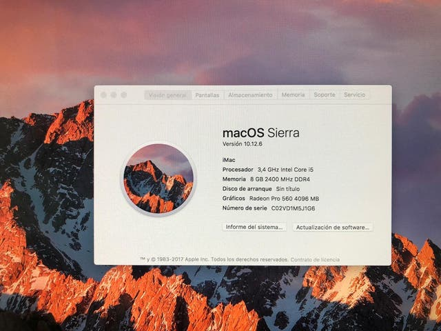 "iMac 21,5"" 2017"