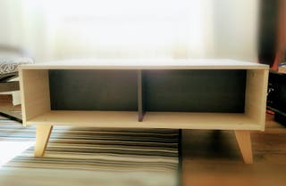mesa de salón abatible muy moderna